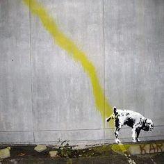 Banksy gets cheeky.