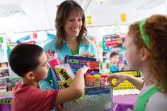 No matter what kind of contest you're holding, a gift basket full of goodies, featuring items from the fair, is a win-win: it gets kids participate and shows off your favorite products!    Check out your Book Fair Chairperson Toolkit for more tips and tricks.