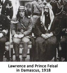 With Prince Feisal