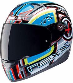 #NEXX XR1.R Alpha Yellow Fluo #Motorcycle Helmet