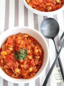 簡単チリコンカン Chana Masala, Recipies, Meals, Cooking, Ethnic Recipes, Food, Fashion News, Drink, Recipes