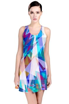 Triangle Party_MirandaMol Reversible Sleeveless Dress #pinkcess #mirandamol #fashion #pinkcessfashion #pnkx Use 20% Off Promo Code: 20EARLY""