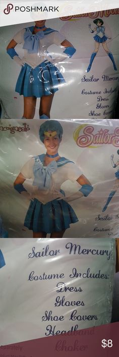 Sailor Mercury costume * Used once * Size S Other