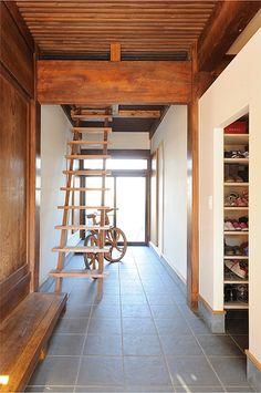 築90年の古民家を再生 現代のライフスタイルに合う住まいに(3/4) - 快適リノベLIFE - NIKKEI 住宅サーチ