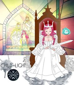 Aurora - Child of Light by WolfyGirl95 on deviantART