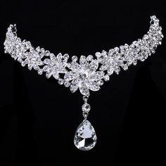 Beauitful Shining Rhinestones Wedding Bridal Headpiece