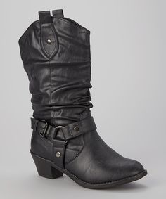 Look at this Black Dale Boot on #zulily today!