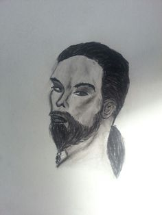 Drogo first try with Charcoalpencil