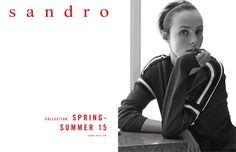 Sandro Spring 2015 Ad Campaign