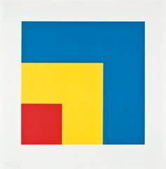 Ellsworth Kelly - Red yellow Blue