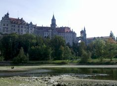 Sigmaringen Palace on the Danube. Sigmaringen, Baden-Württemberg, Germany.