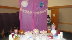 Sweet Shoppe candy buffet at the Candy Land First Birthday Party