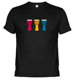 Camiseta Djembe I. Compra online en http://www.latostadora.com/mundopercusion/djembe_i/540518