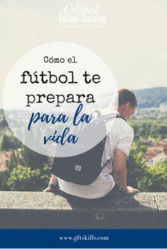 """""""El fútbol es un deporte de pasión para la mayoría de sus aficionados. Combinar la pasión  con las emociones cambiantes de la juventud, y encuentra un gran desafío, especialmente en el entrenamiento del fútbol juvenil. PERO los deportes, de una manera enorme, preparan a nuestros hijos para la vida. Aprenden sobre la gente y sobre sus mismos, y cómo comportarse y controlar sus emociones en el juego del fútbol. ¿De qué otra manera me preparó el fútbol para la vida? ¡Descubrir más en el blog! """""""