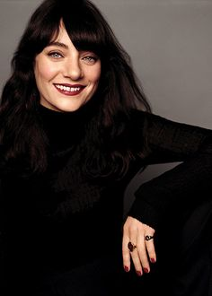 Global creative designer for makeup and color at Chanel, Lucia Pica