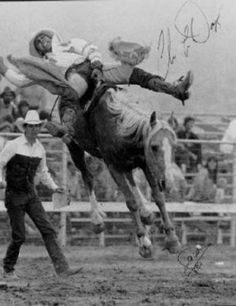 Chris Ledoux This sport has been around a long time! ❤ would take brass balls & a heart the size of Texas!