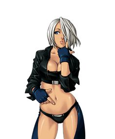 Angel from The King of Fighters video game