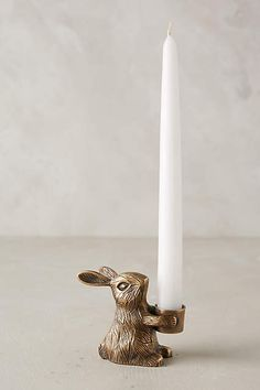 Bougeoir petit lapin<!-- mp_trans 15 --> - <!-- mp_trans 15 -->anthropologie.com