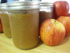 """Lacto-Fermented Applesauce? Another pinner said, """"This is so good...quick & easy!! I make it all the time. Comes out differently using various apple varieties. I add ginger sometimes too."""""""