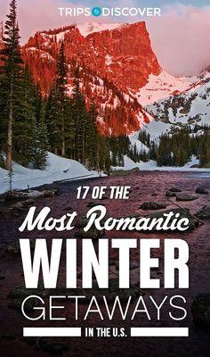These winter wonderlands offer couples an unforgettable romantic getaway!