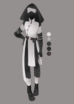 :: July Commission 05: Outfit Design :: by VioletKy.deviantart.com on @DeviantArt