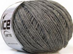 Lot of 8 Skeins ICE OVATTA (100% Wool) Hand Knitting Yarn Grey - Yarn