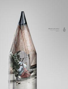 Amnesty International: Pencil, 1 | Ads of the World™