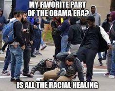 Ironic, isn't it?! I still wonder if the black half of Obama hates the white half?