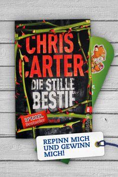 """<3 PINN MICH & GEWINN MICH <3 Im Thriller """"Die Stille Bestie"""" muss der eigenbrötlerische Profiler Robert Hunter plötzlich gegen seinen besten Freund ermitteln. Spannung bis zur letzten Seite!"""