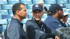 Pettitte  at Yankees camp as guest instructor  Lefty back in uniform for a few days, but enjoying life after baseball