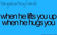 Because he's a foot taller than you lol