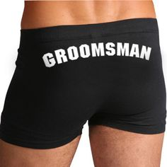 Groomsman Boxers Team