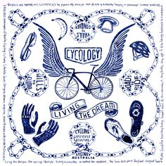 New bandana design from Cycology. Coming soon.
