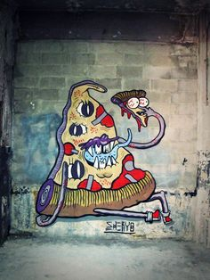 "Streetart by ""The Yok & Sheryo"" (9 Pictures) > Streetstyle, urban art > art, mural, murals, street art, streetart"