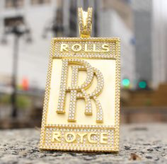 Rolls Royce Bar Pendant Sterling Silver                                                                                                                                                                                 More