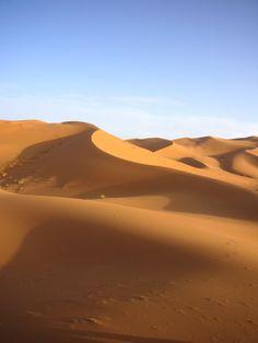 Duinen - Westelijke Sahara Marokko