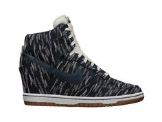 I mean.....let's get real....someones going to get these for me for Christmas...or Thanksgiving....or Halloween.....Nike Dunk Sky Hi Premium Women's Shoe - $130