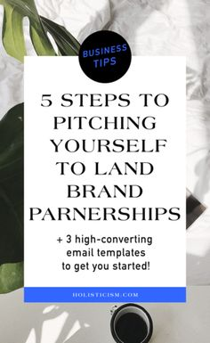 Five Steps To Pitching Yourself To Land Bigger Partnership Opportunities — Holisticism Business Marketing, Content Marketing, Business Tips, Online Business, How To Make Money, How To Become, Running Jokes, Learn To Run, Tarot Reading