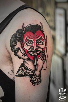 Máscara de diablo por Decráneo