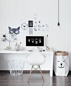 Katerina Dima's Constantly Changing Space {Office Tour} | The Office Stylist