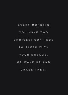 Chase your dreams!! #gelukmomentjes