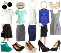 Interview outfits for spring/summer. #hittinghemlines