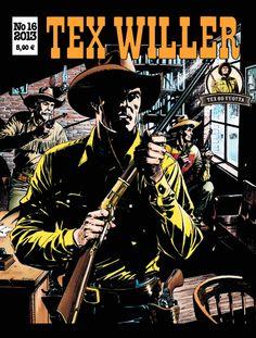 Tex Willer -lehti no 16/2013. #sarjakuva #sarjis #sarjakuvalehti #egmont