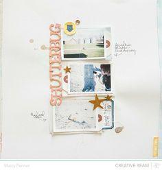 #papercraft #scrapbook #layout.  Ashley Horton Designs: NSD 2014 Recap