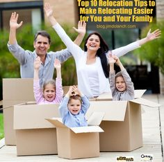 Relocating, but want to make it easy on your family? Consider these tips! --> http://blog.jimdolanch.com/10-top-relocation-tips-to-make-relocating-easier-for-you-and-your-family/ #tiptuesday #realestate #Pittsburgh