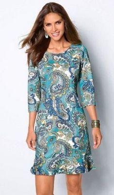 9930eccb2 moda anti-idade - dicas de vestidos para senhoras Vestidos Para Senhoras  Gordas