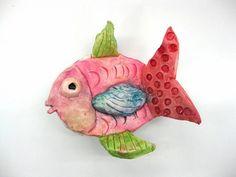 clay fish Artsonia Art Museum :: Artwork by Ashley8195
