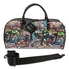 Marvel Comics Duffel Bag for Adults | @giftryapp