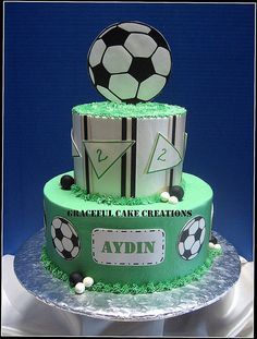 Soccer Ball Birthday Cake Source by claudialindheim Ball Birthday, Birthday For Him, Birthday Cakes, Birthday Ideas, Soccer Ball Cake, Soccer Cakes, Football Cakes, Cakes For Boys, Boy Cakes