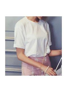 ORREL Folded Sleeved T-Shirt @ shopjessicabuurman.com